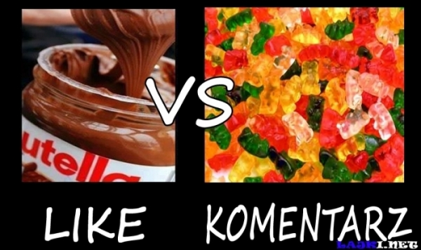 Nutella vs Żelki